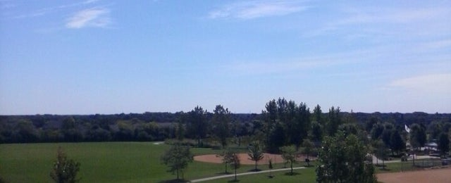 Photo taken at Hawthorn Woods Community Park by Ed B. on 8/28/2014