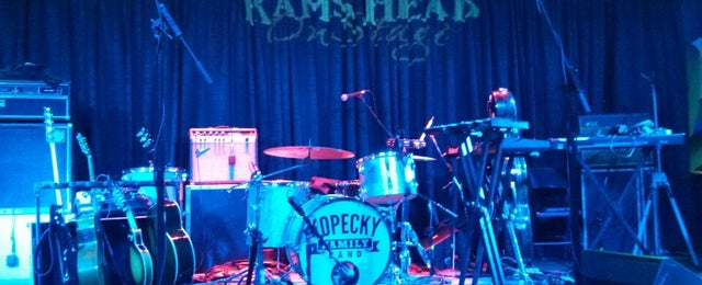 Photo taken at Rams Head On Stage by Giang N. on 5/18/2013