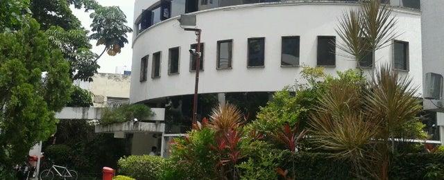 Photo taken at Além do Pão Delicatessen by Germano B. on 12/8/2012