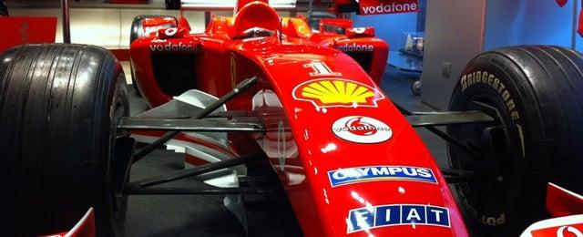 Photo taken at Ferrari Store by Marcello E. on 12/8/2012