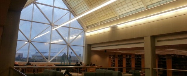 Photo taken at IUPUI:  University Library (UL) by Danah A. on 9/26/2012