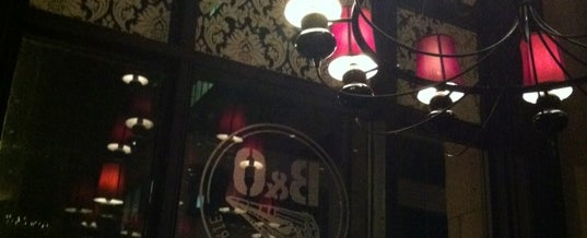 Photo taken at B&O American Brasserie by Patrick T. on 12/29/2012