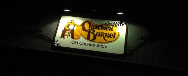Photo taken at Cracker Barrel Old Country Store by Jackson R. on 9/30/2012