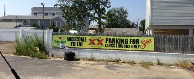 Photo taken at Lang's Liquor by Dan C. on 9/11/2013
