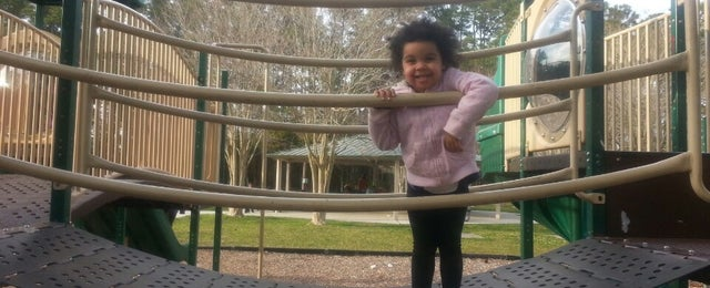 Photo taken at Isle of Palms Playground by Anna J. on 3/9/2013