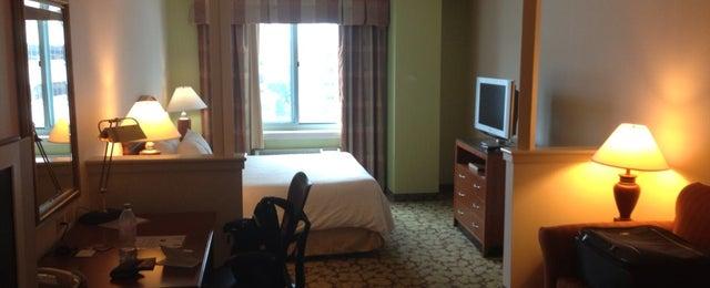 Photo taken at Hilton Garden Inn by Paul K. on 8/22/2013