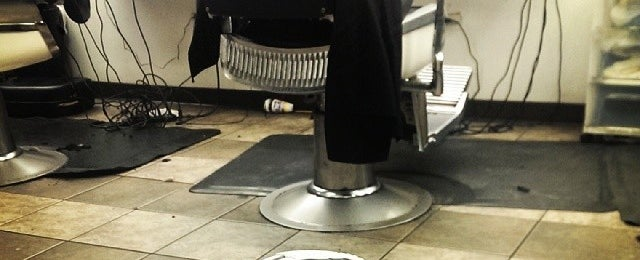 Photo taken at Community Barber by Shaun S. on 1/18/2014