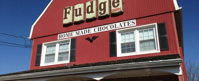 Photo taken at The Fudge Shop by Michael C. on 3/30/2013