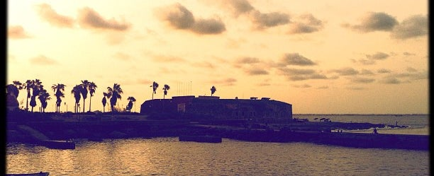 Photo taken at Gorée Island by Absatou N. on 8/15/2012