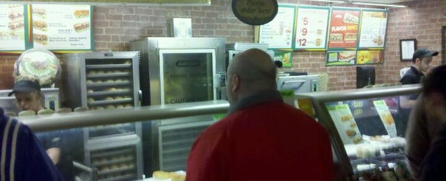 Photo taken at Subway by Michael S. on 3/4/2011
