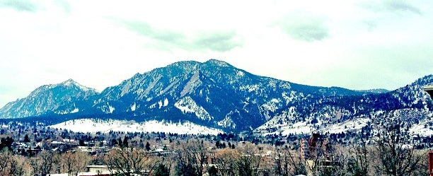 Photo taken at Boulder Transit Center by Leslie on 4/21/2013