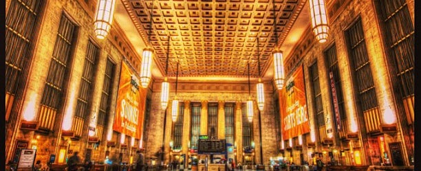 Photo taken at 30th Street Station by Martin L. on 1/11/2013