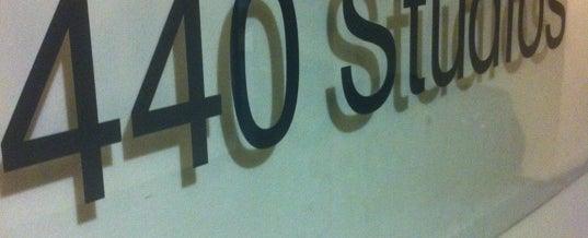 Photo taken at 440 Studios by Nate B. on 5/29/2012