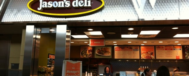 Photo taken at Jason's Deli by Crissy M. on 10/20/2011