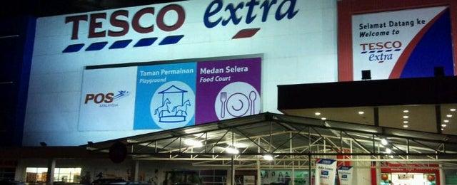 Photo taken at Tesco Extra by Izan J. on 1/8/2012