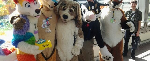 Photo taken at Anthrocon by Shy M. on 6/14/2012