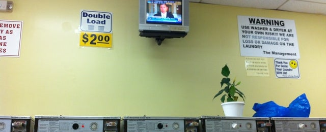 Photo taken at Laundry store by Mark C. on 6/20/2012