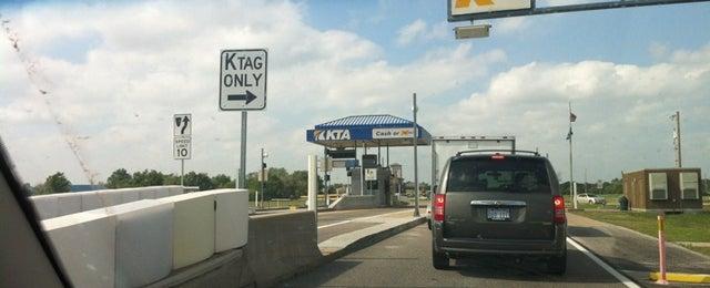 Photo taken at Kansas Turnpike by Josh P. on 5/2/2012