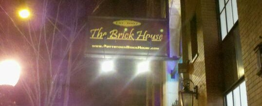 Photo taken at The Brick House by Sarah S. on 12/12/2011