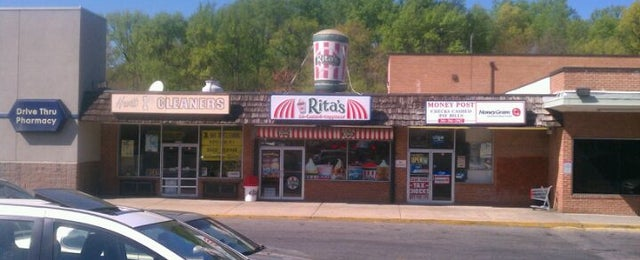 Photo taken at Rita's Water Ice by Jeremy W. on 4/13/2012