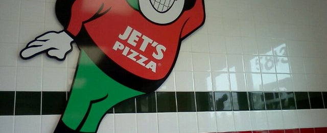 Photo taken at JET'S PIZZA by Carrie D. on 4/15/2011