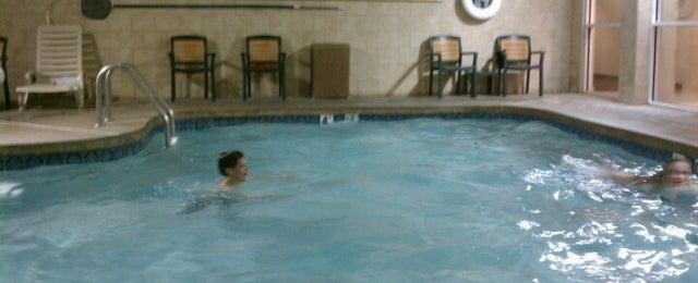 Photo taken at Comfort Suites by Cindi K. on 6/28/2012
