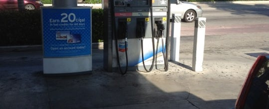 Photo taken at Chevron by Henri V. on 4/5/2012