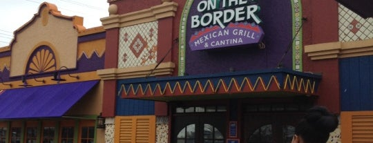 On The Border Mexican Grill & Cantina is one of 20 Favorite Restaurants On LI.