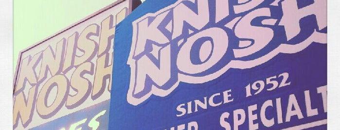 Knish Nosh is one of Vegetarian-Friendly Restaurants in Queens.