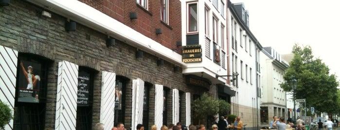 Brauerei im Füchschen is one of Food and Drink Düsseldorf.