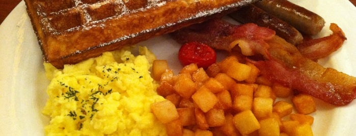 Green Waffle Diner is one of wanna try next.