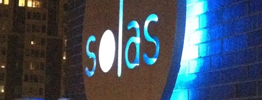 Solas Lounge & Rooftop Bar is one of Favorite Nightlife Spots.