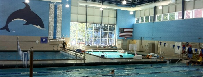 Evelyn Kirrane Aquatics Center is one of Nearby Neighborhoods: Brookline Village.