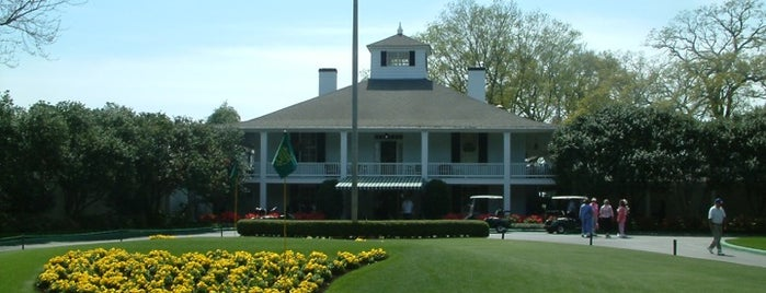 Augusta National Golf Club is one of Top picks for Golf Courses.
