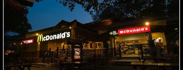 McDonald's is one of F&B.