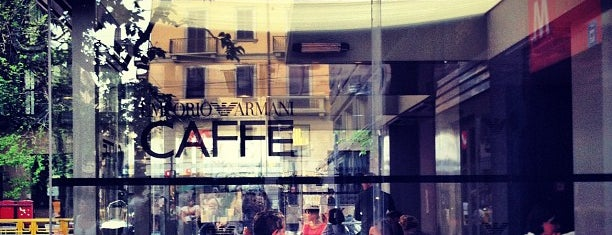 Emporio Armani Caffè is one of Restaurants milano.