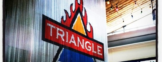 Triangle Char & Bar is one of Jason & NYE.