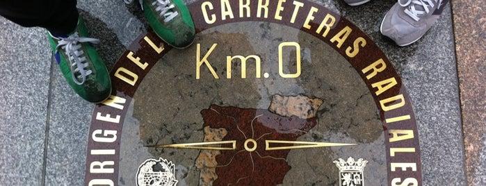 Kilómetro 0 is one of @ Madrid (MD, España).