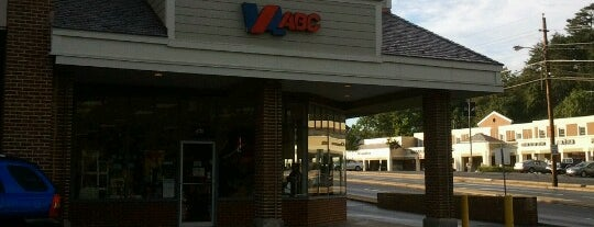 Virginia ABC is one of Frequent Places.
