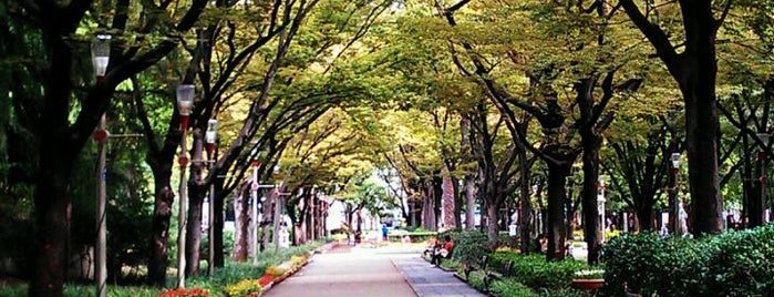 Utsubo Park is one of 公園.