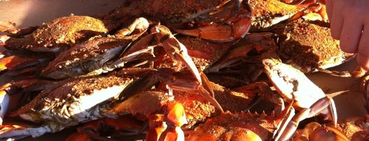 L.P. Steamers is one of Best of the Bay - Crab Houses of Maryland.