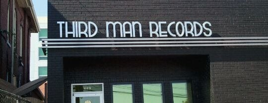 Third Man Records is one of Places from the reporting trail.