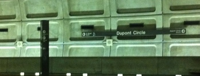 Dupont Circle Metro Station is one of WMATA Train Stations.