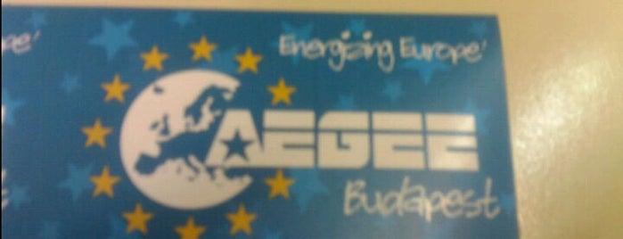 AEGEE-Budapest is one of Tagszervezeteink.
