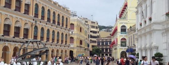 Largo do Senado / Senado Square 議事亭前地 is one of Discover: Macau.