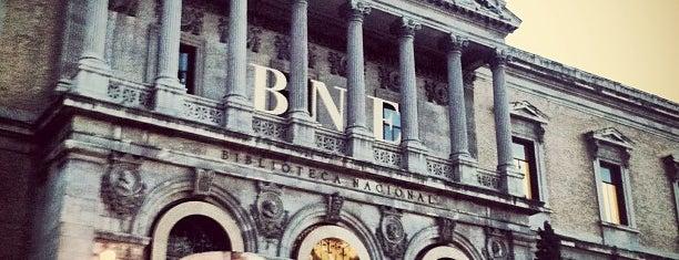 Biblioteca Nacional de España is one of @ Madrid (MD, España).