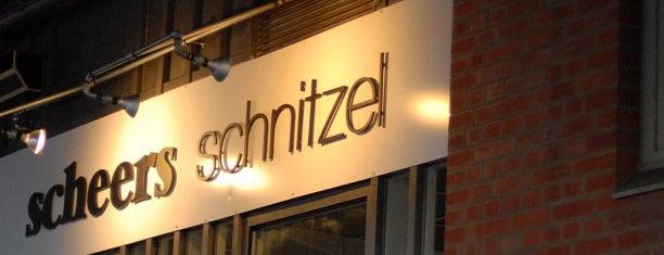 Scheers Schnitzel is one of Berlin - Best Schnitzel in Berlin.
