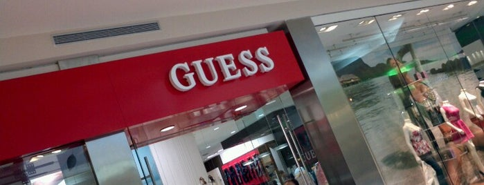 GUESS by Marciano is one of Tiendas en PLAZA.