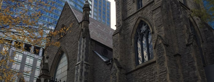 St. George's Anglican Church is one of montreal.