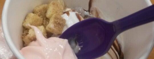 Yogurt Shoppe is one of Top Notch.